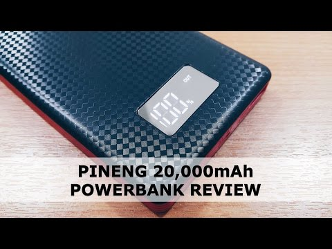 Pineng 20000mAh (TFi-02) Review by The Faiz Ibrahim