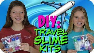 DIY TRAVEL SLIME KIT TUTORIAL || MAKE Y...