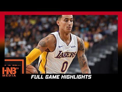 Los Angeles Lakers vs New Orleans Pelicans 1st Half Highlights / Week 1 / 2017 NBA Season