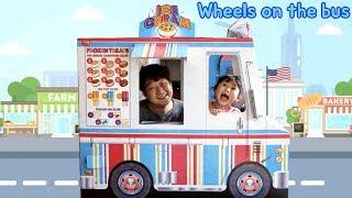 라임의 아이스크림 버스를 타고 달려~! wheels on the bus 어린이 율동 동요