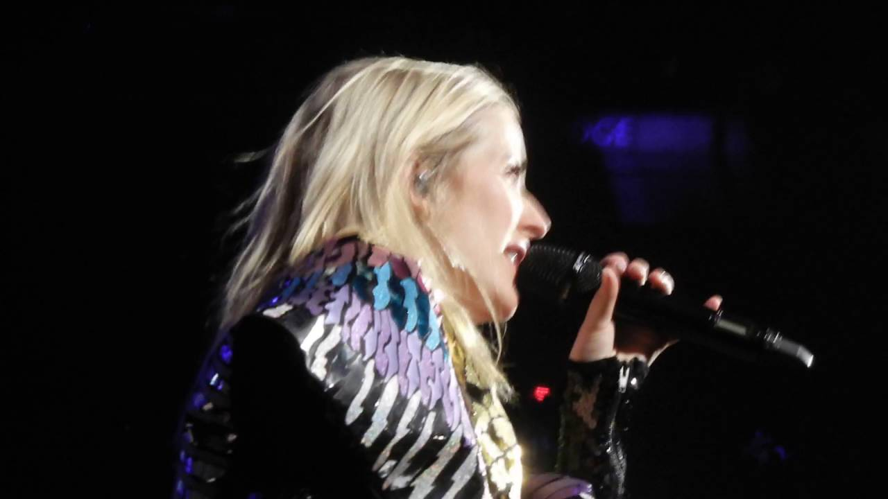 Ellie Goulding Love Me Like You Do Live in NYC MSG 6212016