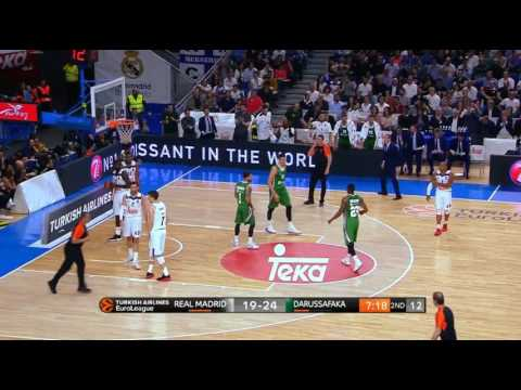 Ante Zizic 17 pts 8 rbd full highlights against Real Madrid