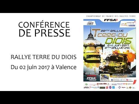 Conférence de presse Rallye Terre du Diois