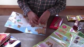 ロッテ コアラのマーチ お菓子の家 手作りキット!