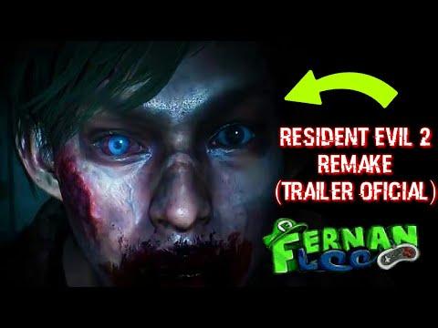 🔰Resident Evil 2 Remake🔰(Trailer Oficial) - Fernanfloo hace Colaboración con CAPCOM