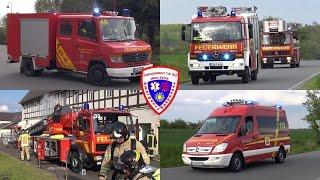 [Realeinsatz unterbricht Einsatzübung] 🚒 Einsatz für die Feuerwehr Schmölln