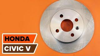 Achteraslager installeren HONDA CIVIC: videohandleidingen