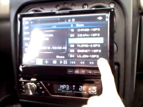 Pantalla Retractil 1din Soundstream Vir 7830bt Youtube