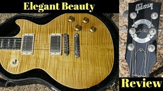 Now That's What I Call Fancy! 1997 Gibson Les Paul Elegant Natural Flame Top | Review and Demo