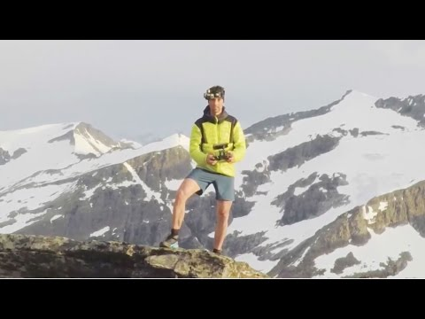Trail Running an Insanely Scary Ridge