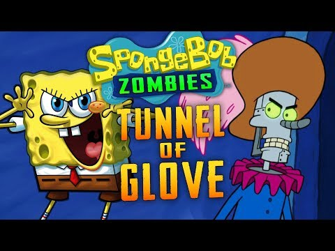 Spongebob: Tunnel of Glove Zombie Challenge (Call of Duty Custom Zombies)
