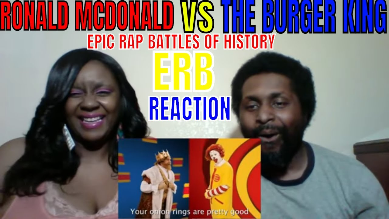 478e594b ERB - Ronald McDonald vs The Burger King. Epic Rap Battles of History  REACTION
