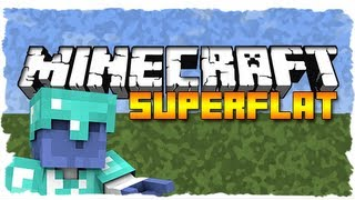 Minecraft SuperFlat: ZOMBIES EVERYWHERE! (Ep. 1)