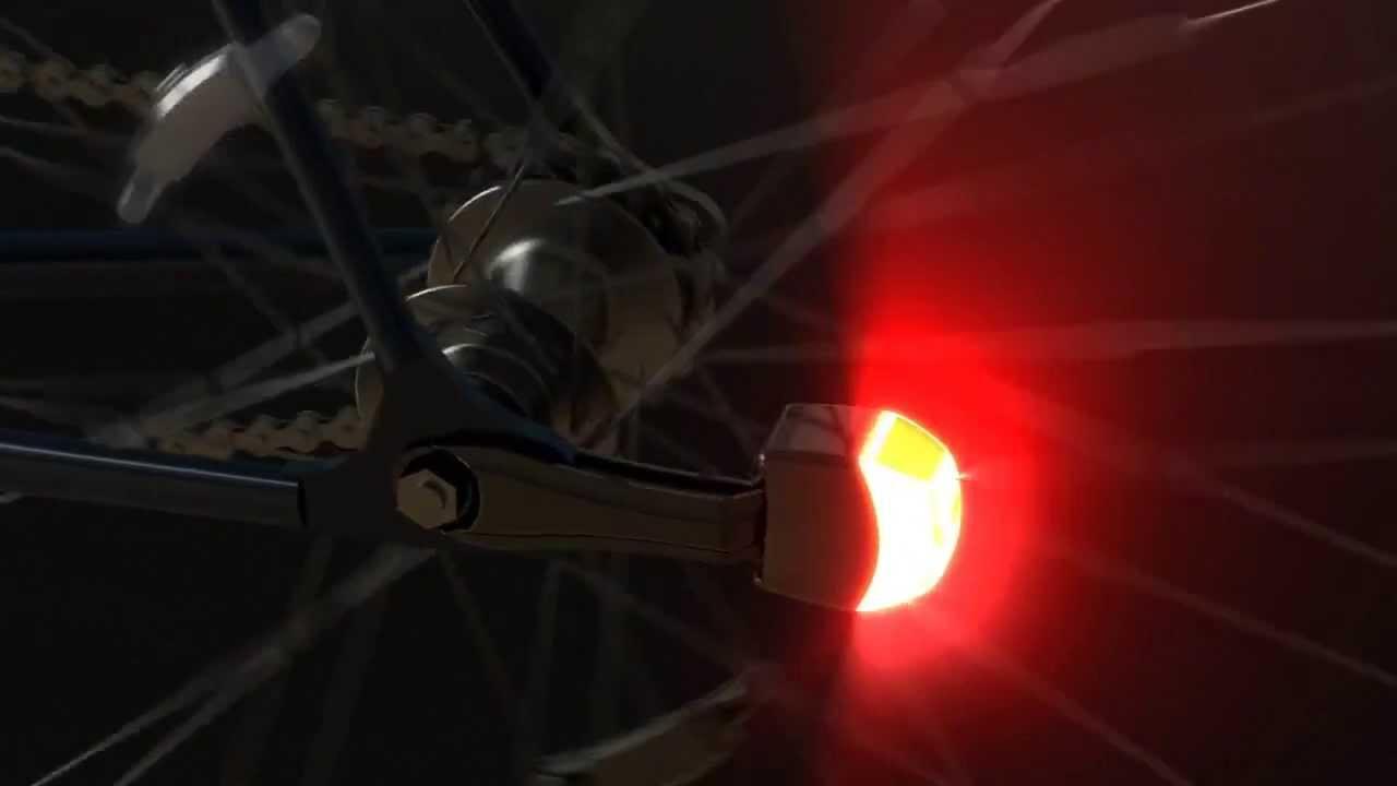 Reelight fietsverlichting met magneten, zonder batterijen en zonder ...