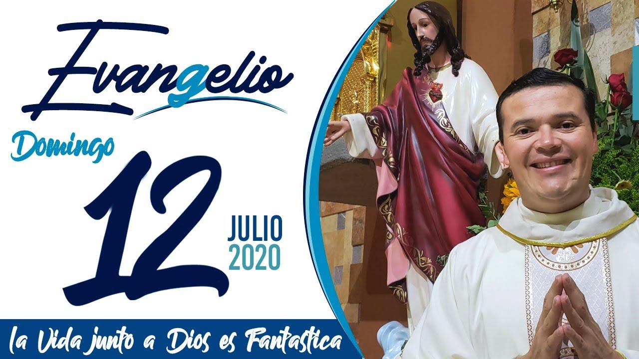 Evangelio de hoy Domingo 12 de Julio de 2020
