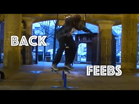 How to Back Feeble Grind (trick tip)