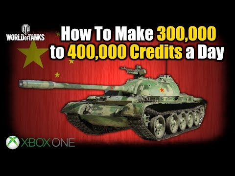 No Longer Works 300/400,000 Credits Daily World Of Tanks Console