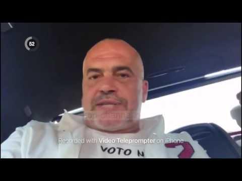 Rama nga makina: Të bashkuar për Shqipërinë me shtet - Top Channel Albania - News - Lajme