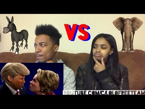 ERB of History: Donald Trump vs Hillary Clinton REACTION