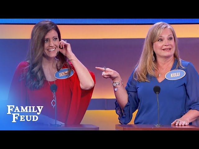 Minister blames dirty answer on his sister! | Family Feud