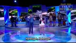 Hallelujah | Jotta A Michely Manuely - Agnus Dei - Programa Raul Gil Gospel Song