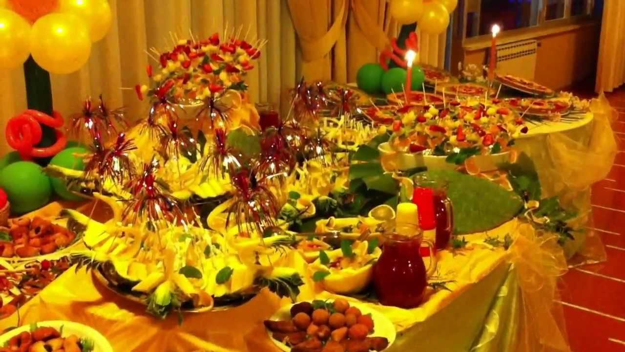 Buffet compleanno 18 anni dolce e salato La Bussola Hotel Capo ...