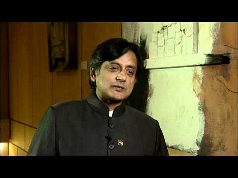 Interview with Shashi Tharoor on Social Media - YouTube