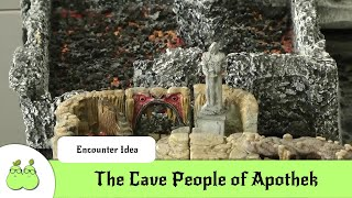 Maraine City: The Cave People of the Apothek archipel.