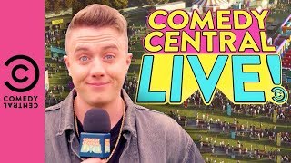 Welcome To Comedy Central Live | Comedy Central