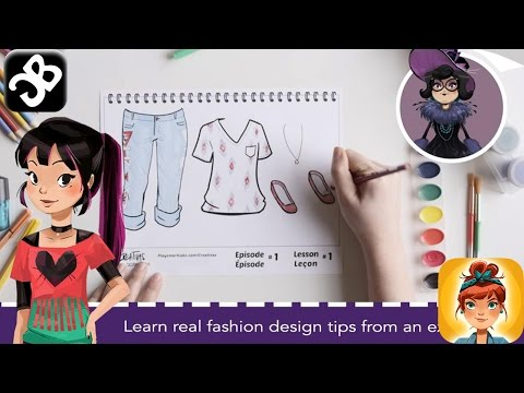 Creativas™ Fashion Design Game - IPhone/iPad/iPod Touch