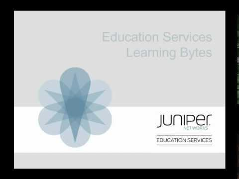 Juniper Learning Byte: Firewall Filter Basics