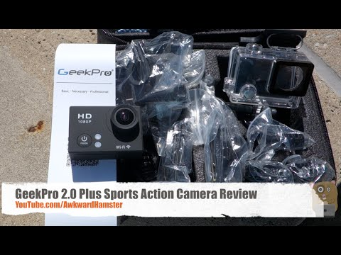 Geekpro Camera Review : Geekpro plus sports action camera review youtube