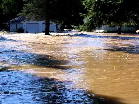 Flooding - Flint Drive Poestenkill, NY 8/29/11