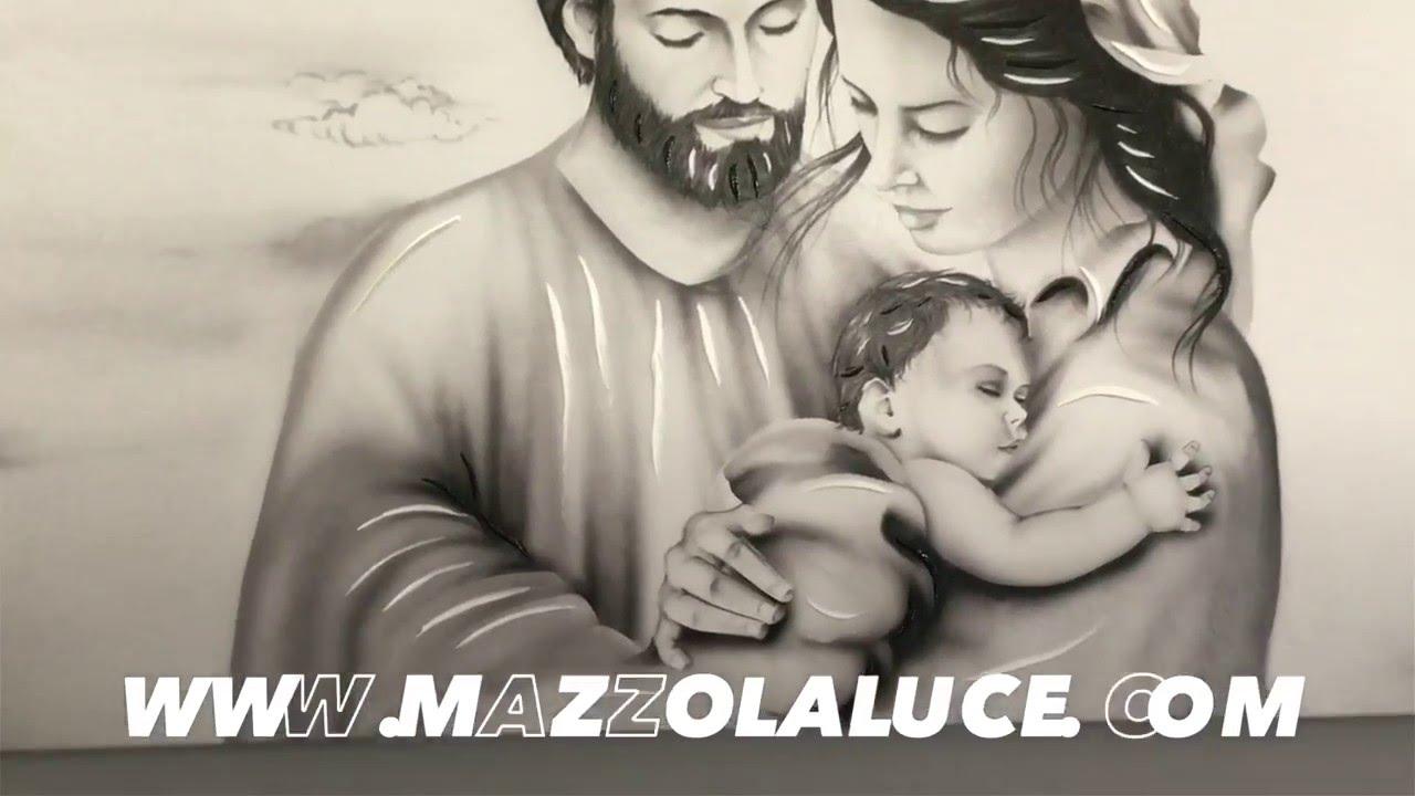 Capezzale contemporaneo sacra famiglia for Sacra famiglia quadri moderni