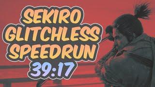Sekiro - Glitchless Speedrun - 39:17 [World Record]