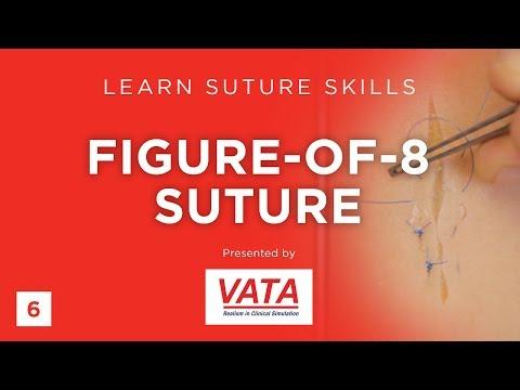 Figure-of-8 Suture Learn Suture Techniques VATA