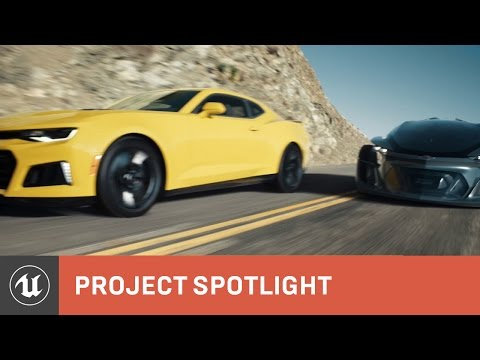 The Human Race - Behind The Scenes - Unreal Engine