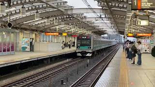 E233系2000番台マト8編成 NN出場