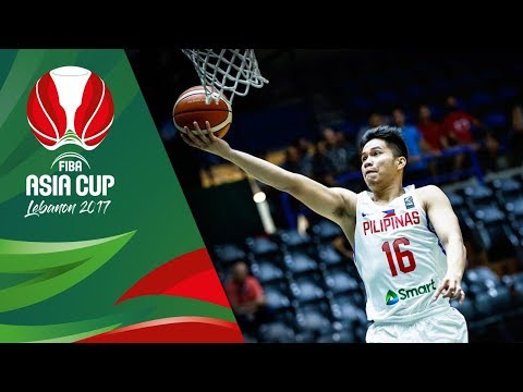 Philippines v Jordan - Full Game - Classification 7-8 - FIBA Asia Cup 2017