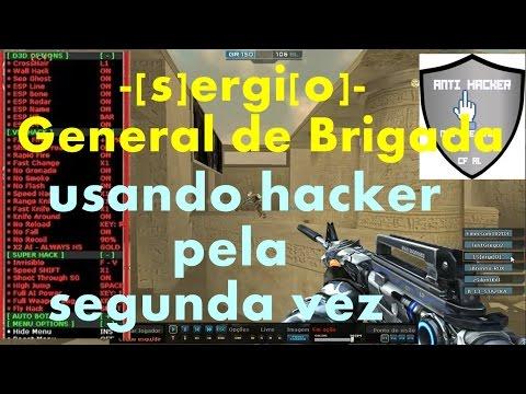 Sergio - General Hacker pela segunda vez - CF AL