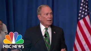 Michael Bloomberg Suspends Campaign, Endorses Joe Biden | NBC Nightly News
