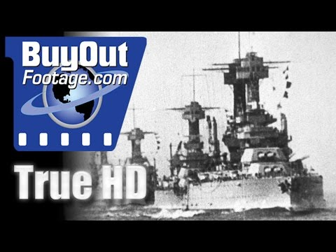 WWI - U.S. Navy In The World War, Historic HD Footage