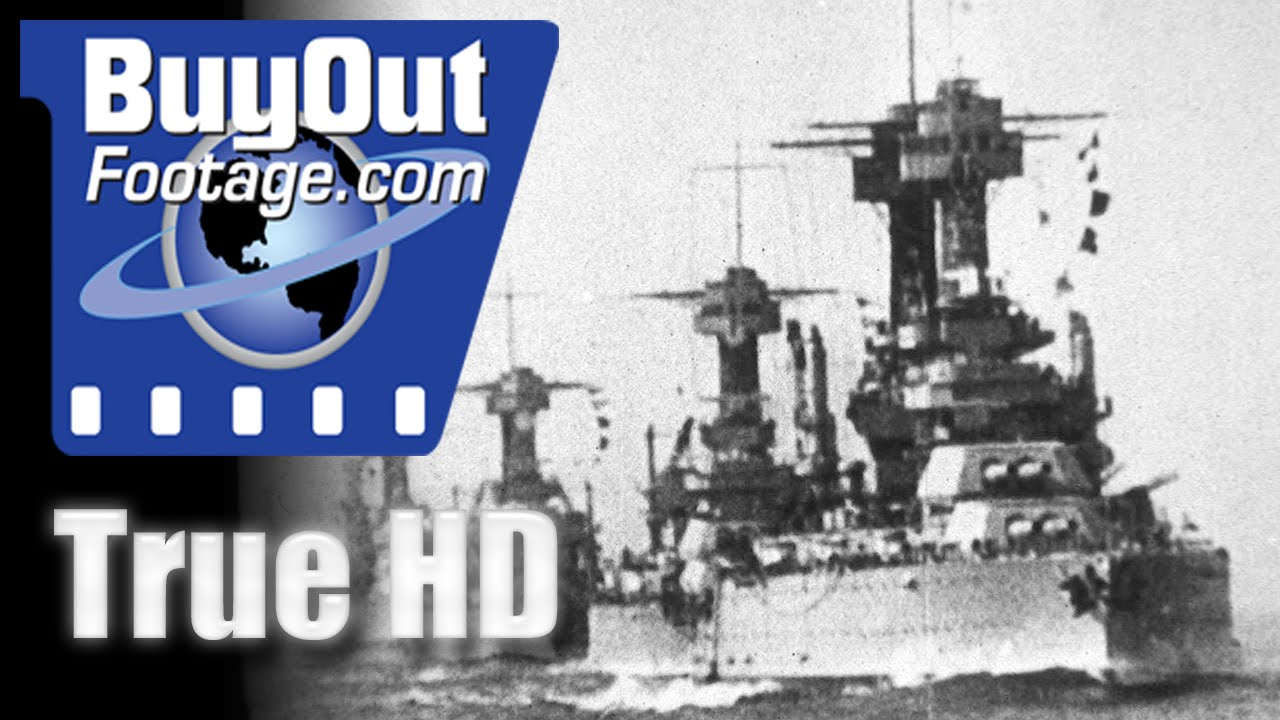 WWI - U S  Navy In The World War, Historic HD Footage