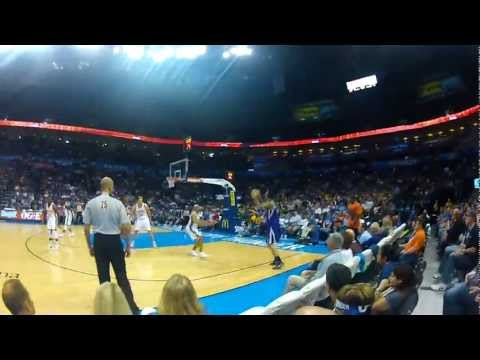 "GoPro HD - OKC Thunder Mascot ""Rumble The Bison"" Cam"