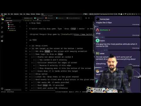 { 🌱 } | Chill Stream | Building A Twitch Overlay Game With Vanilla JS