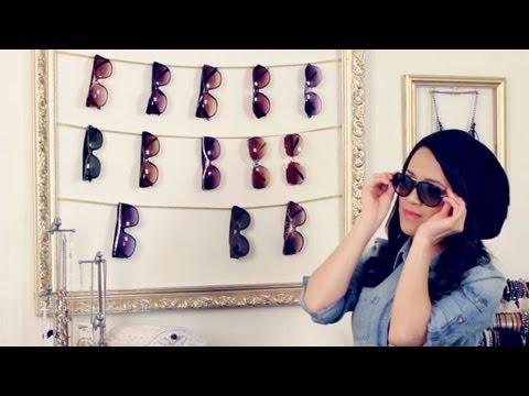 Diy Sunglasses Display Frame And Bonus Tutorial Youtube