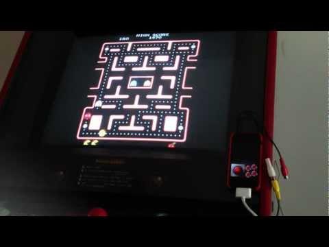 iOS Powered MAME Arcade Cabinet