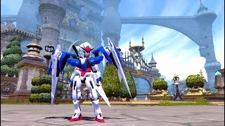 Gundam 00 Raiser Costume Mod + Skill Effect - [Download Mod] - Dragon Nest INA