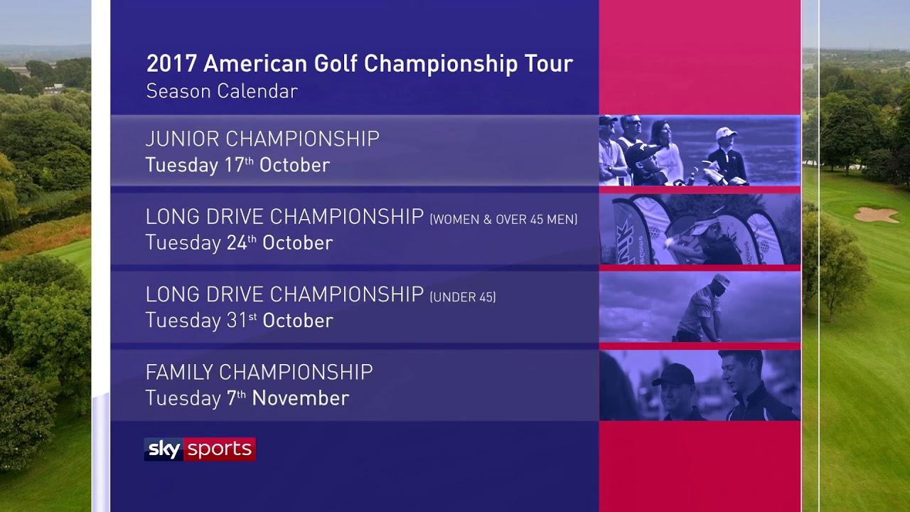 The American Golf 2017 Finals Sky Sports Schedule