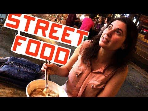 é LOUCURA comer COMIDA de RUA?  :::::: (ChengDu, Sichuan) Ep.1